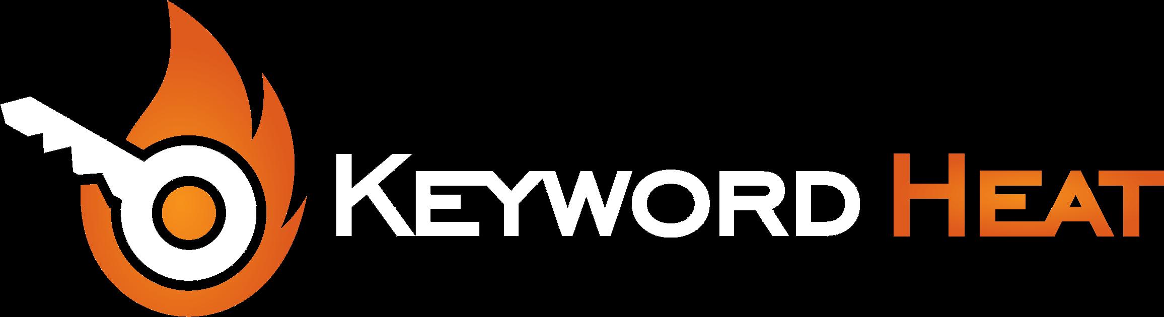 keyword heat white logo